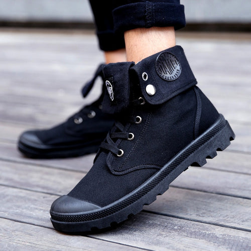 Military Style Boots - SHOPPLEHUB