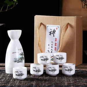 Japanese Sake Set (6pcs)