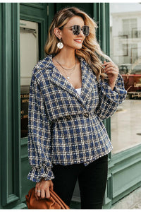 Elegant Tweed Jacket - SHOPPLEHUB