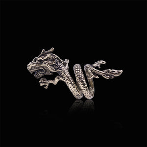 Gothic Chinese Dragon Ring (Unisex)