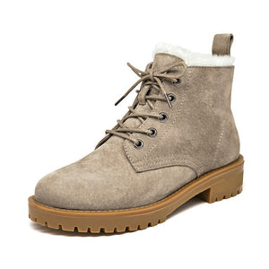 Women's Wool Lined Snow Boots