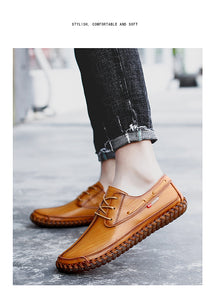 Hand-stitched Loafers - SHOPPLEHUB