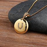 Letter Initial Necklace - SHOPPLEHUB