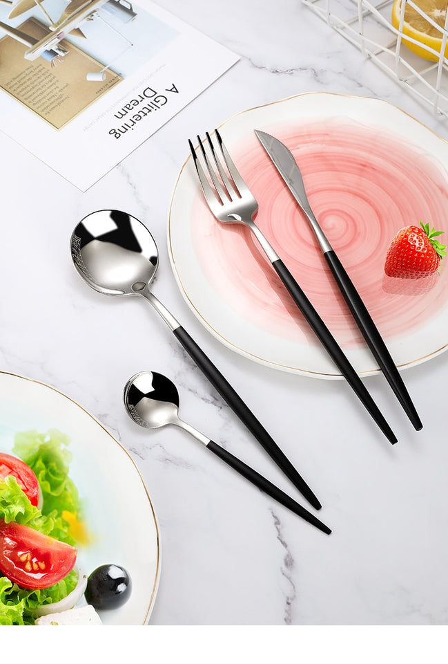 Flatware Cutlery Set (4pcs)