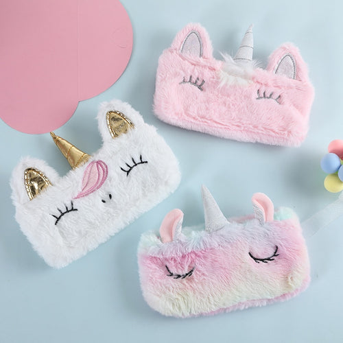 Plush Unicorn Storage Case