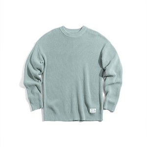 Men's Candy Colored Knitted Madden Sweater