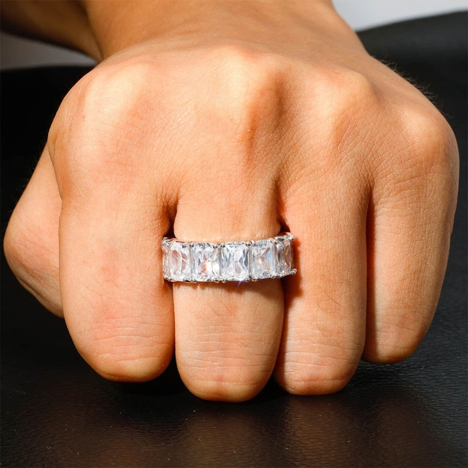 Men's Solitaire Tennis Ring