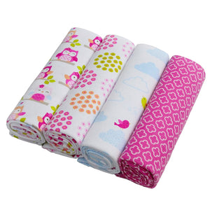 4pcs Newborn Swaddling Blankets - SHOPPLEHUB