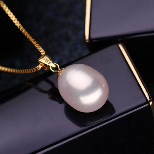 18K Gold Pearl Necklaces - SHOPPLEHUB
