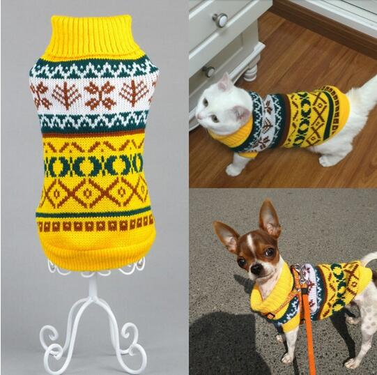 Pets Winter Print Sweater - SHOPPLEHUB