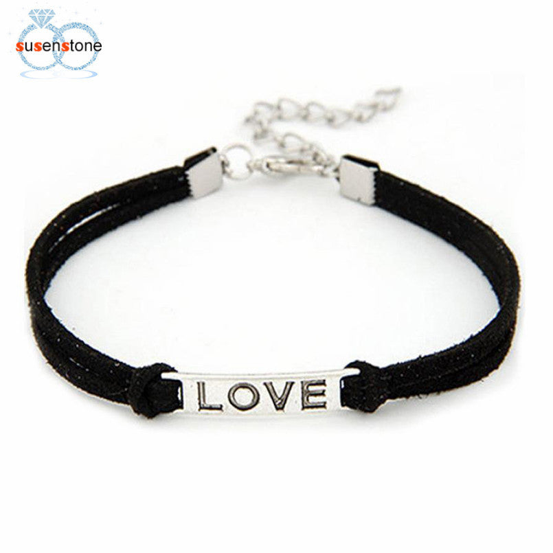 1PC Braided Adjustable Leather Popular Bracelet - SHOPPLEHUB