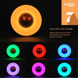 Multi Colour Sunrise Alarm Clock - SHOPPLEHUB