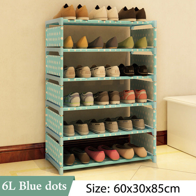 Space Saving Multi Layer Shoe Rack - SHOPPLEHUB