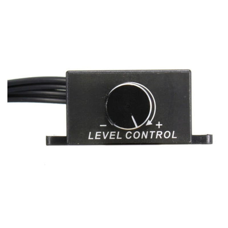Car Audio Amplifier Bass RCA Gain Level Volume Control Knob - SHOPPLEHUB