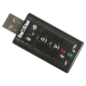 External USB Audio Adapter Sound Card - SHOPPLEHUB
