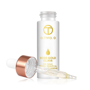 24k Rose Gold Elixir Skin Make-Up Oil - SHOPPLEHUB