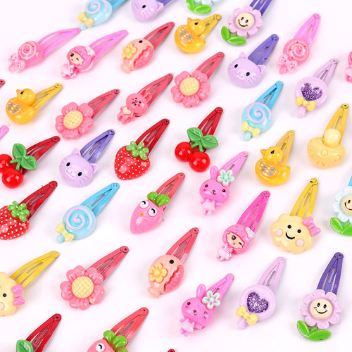 Mix Color Baby Barrettes (10pcs)