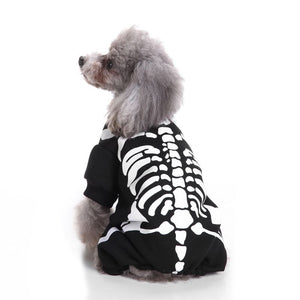 Skeleton Print Halloween Pet Clothes (Dog) - SHOPPLEHUB