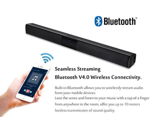 Home Theater Bluetooth Soundbar - SHOPPLEHUB