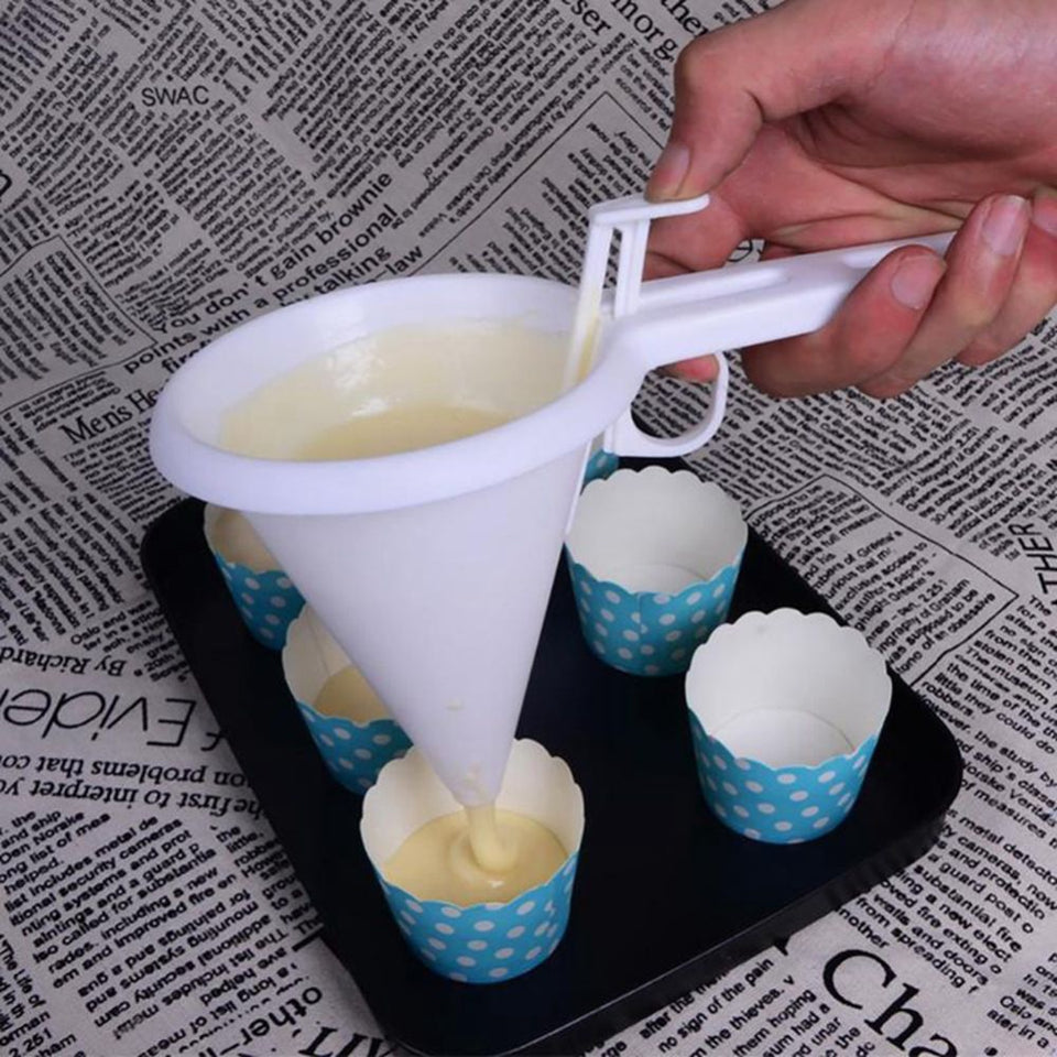 Batter Dispenser Funnel - SHOPPLEHUB