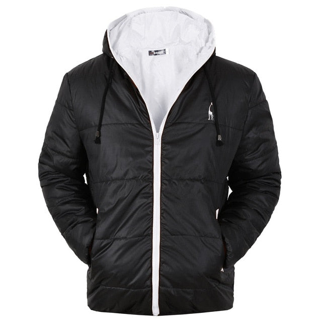 Men's Waterproof Cotton Padding Parka - SHOPPLEHUB