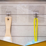 1/5/10 Pcs Transparent Suction Hooks - SHOPPLEHUB
