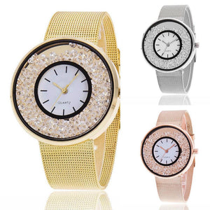 Women Rhinestone Wristwatch - SHOPPLEHUB