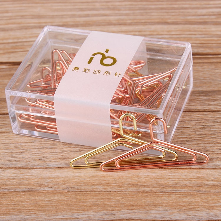 Rose Gold Hanger Clips - SHOPPLEHUB