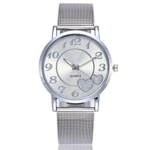 Love Heart Dial Quartz Watches - SHOPPLEHUB
