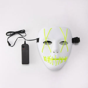 Halloween Purge Mask with LED LIGHT - SHOPPLEHUB