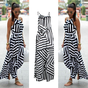 Long Boho Maxi Sundress - SHOPPLEHUB