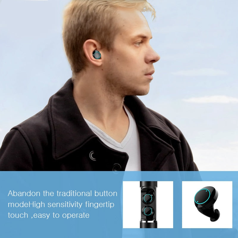 WaterProof Wireless Earphones 5.0 - SHOPPLEHUB
