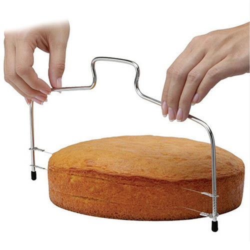 10 Inch Stainless Steel Double Line Adjustable Cake Cutter - SHOPPLEHUB