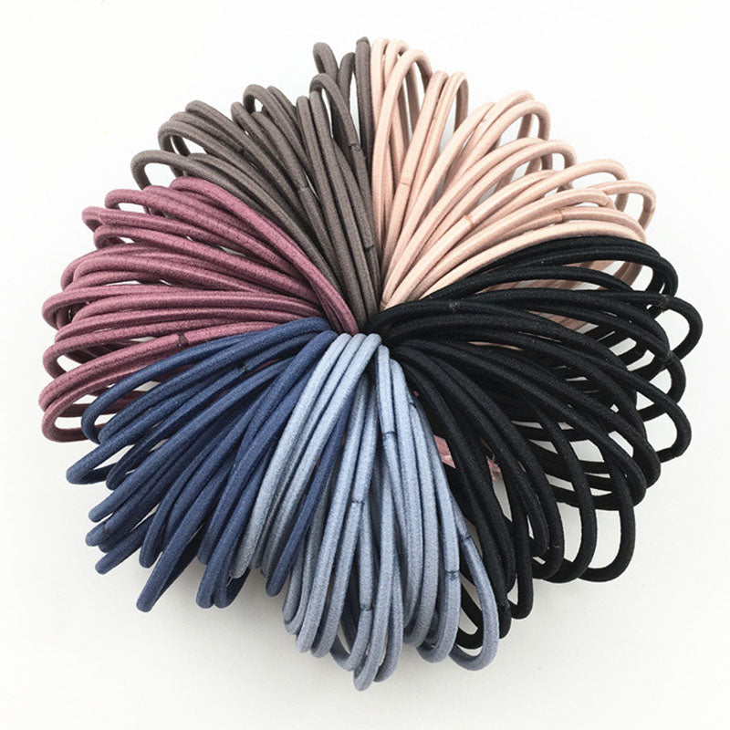 Elastic Hair Bands (50pcs) - SHOPPLEHUB