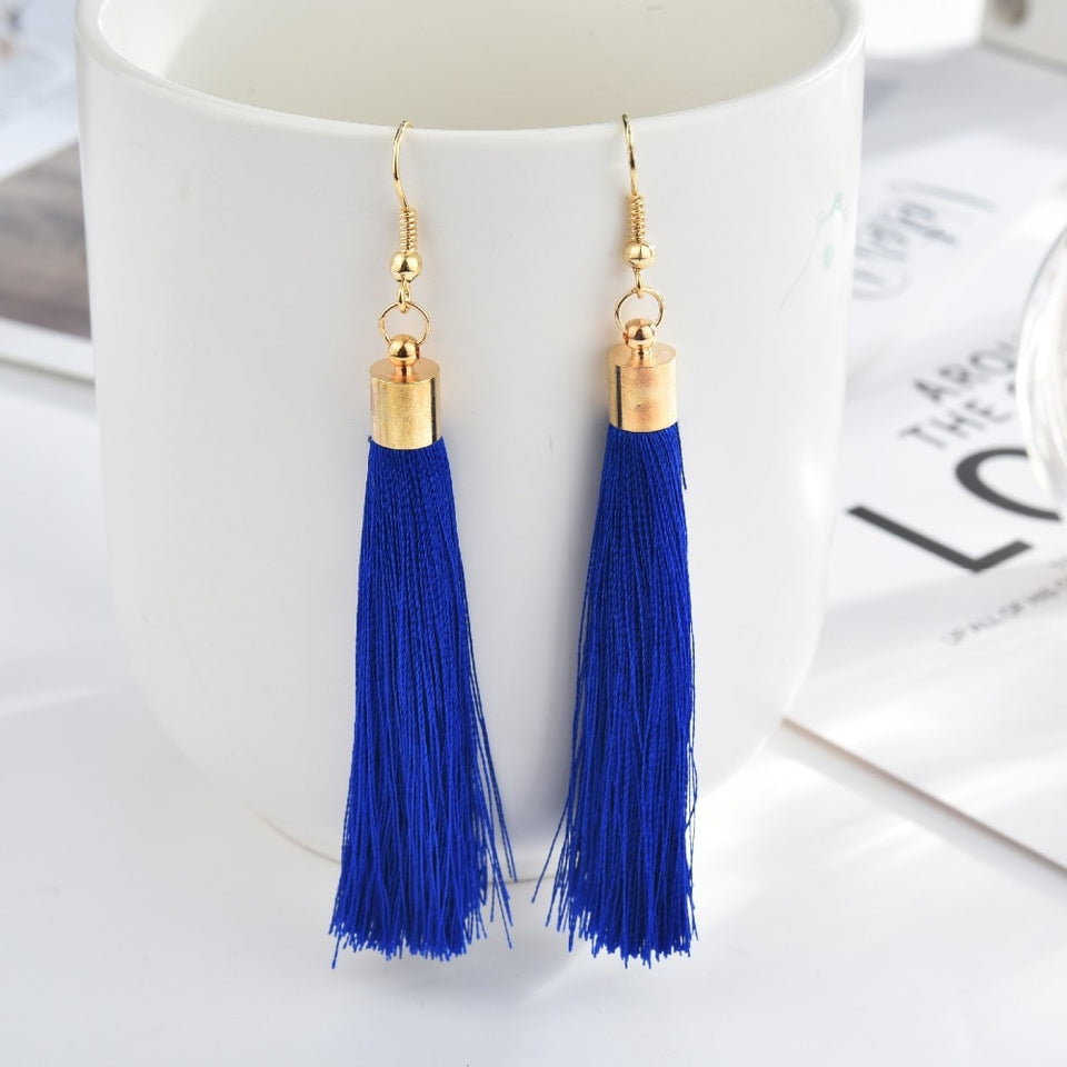 Fringe Tassel Earrings - SHOPPLEHUB