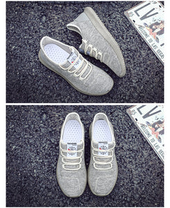 Unisex Mesh Ventilation Casual Sneakers - SHOPPLEHUB