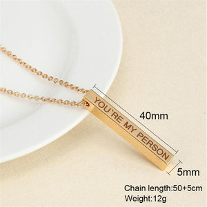 Custom Design Initial Necklace - SHOPPLEHUB