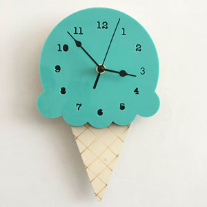 Nordic Ice Cream Wall Clocks - SHOPPLEHUB