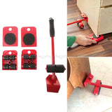 5Pcs Furniture Transport Roller Set - SHOPPLEHUB