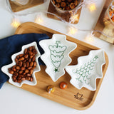 Christmas Tree Desert Plates (4pcs) - SHOPPLEHUB