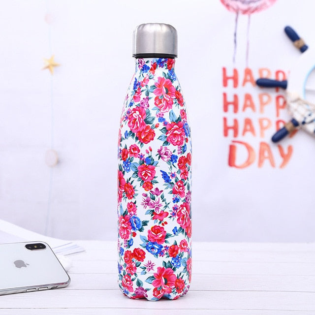 Stainless Steel Thermos Vacuum Flask - 500ml - SHOPPLEHUB