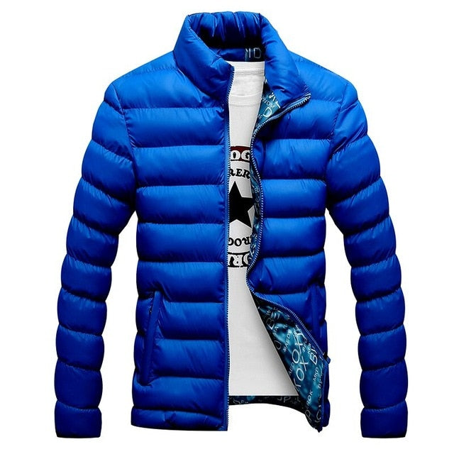 Slim-Fitted Quilted Windbreaker - SHOPPLEHUB