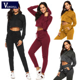 2 Piece Casual Sweatsuit - SHOPPLEHUB