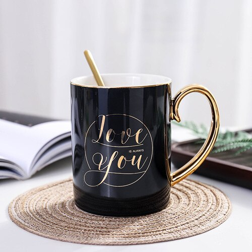 Midnight Black Mug Gift Set - SHOPPLEHUB