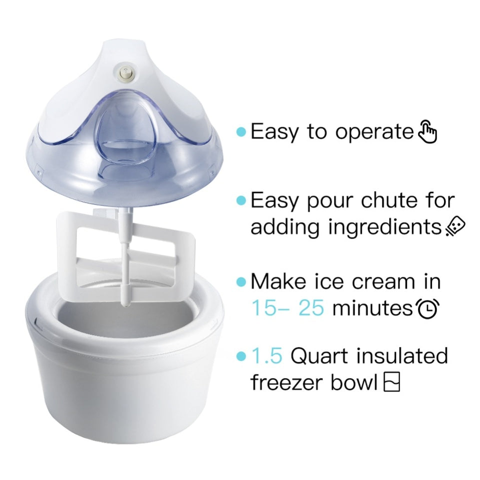Ice Cream Maker Machine - SHOPPLEHUB