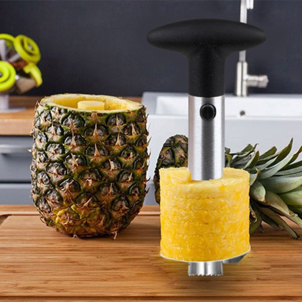 Stainless Steel Pineapple Corer - SHOPPLEHUB