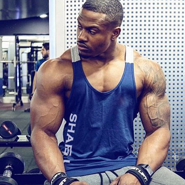Men's Bodybuilding Fitness Vests - SHOPPLEHUB