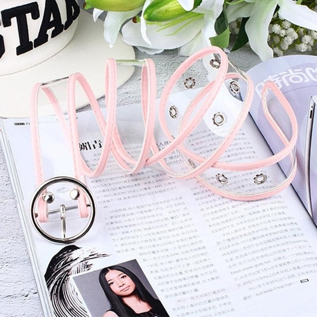 Long Adjustable Transparent Belt - SHOPPLEHUB