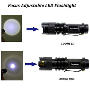 T6 LED Tactical Flashlight - SHOPPLEHUB