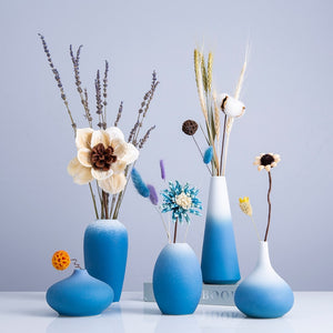 Blue Nordic Vase - SHOPPLEHUB